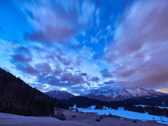 Karwendel Geroldsee Sunrise